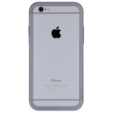 Бампер Just Mobile AluFrame для iPhone 5/5S Aluminium (серый)