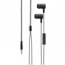 Наушники Xqisit Headset iE H20 (18734) black+гарнитура
