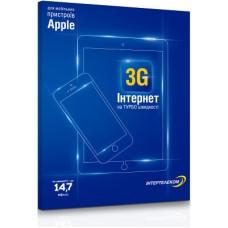 Интертелеком «3G Интернет» для мобильных устройств Apple