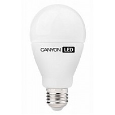 LED-лампа Canyon 10 Вт A60 300° теплый желтый свет (2700 К), матовая, цоколь E27 (AE27FR10W230VW)