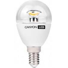 LED-лампа Canyon 3,3 Вт P45 150° теплый желтый свет (2700 К), прозрачная, цоколь E14 (PE14CL3.3W230VW)
